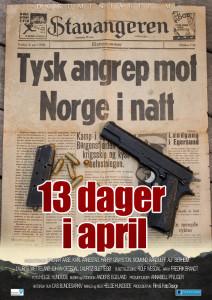 13 dager i april